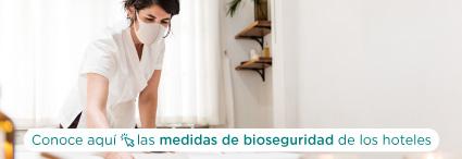 Medidas bioseguridad hoteles